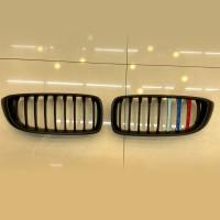 [出清]水箱護罩-消光黑3色線(BMW F32 2014~)