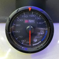 [出清]D1 Spec 賽車錶(黑版)60mm油溫錶