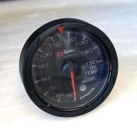 [出清]D1 Spec D1B004-2 七彩二代賽車錶(黑版)60mm油溫錶