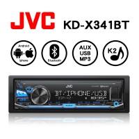 JVC KD-X341BT USB/MP3/AUX/藍芽/Android/Apple 無碟多媒體音響主機