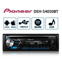 PIONEER先鋒 DEH-S4050BT CD/USB/AUX/iPHONE/Android/藍芽 音響主機