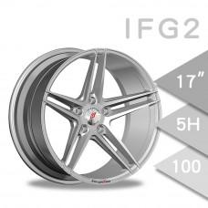 IFG2 (WL1911) 鋁圈 17吋7.5J 5孔 PCD100 銀色